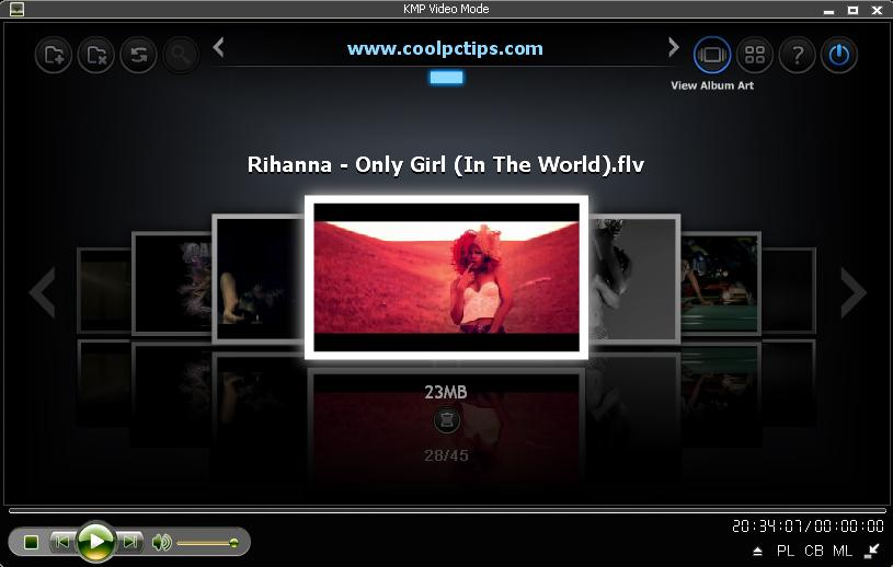 KMPlayer Features