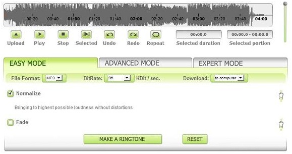 create ringtones