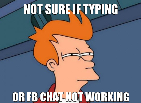 Facebook Chat Not Working