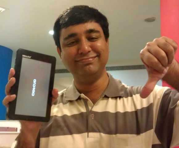 Aakash Tablet PC failed