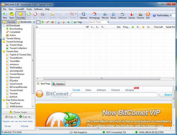 top 5 free BitTorrent clients