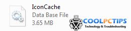 Rebuild Icon Cache - Icon Cache
