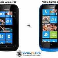 Nokia Lumia 710 vs Nokia Lumia 610 specs