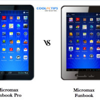 Micromax Funbook Pro vs Funbook