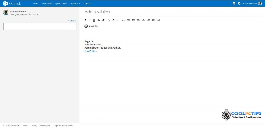 Outlook Mail Review - New Mail UI