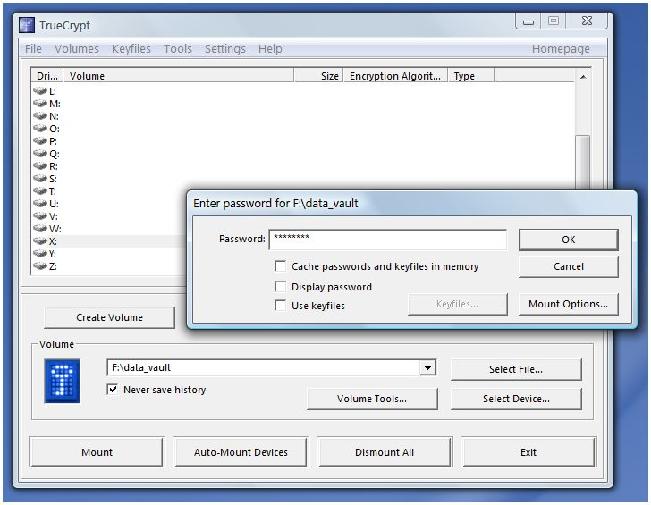 Password Protect USB Flash Drives - TrueCrypt