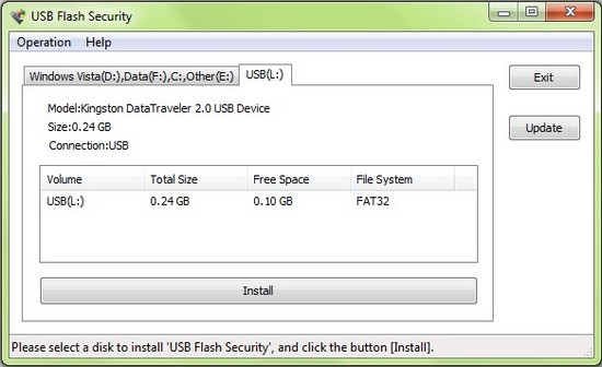 Password Protect USB Flash Drives - USB Flash Security