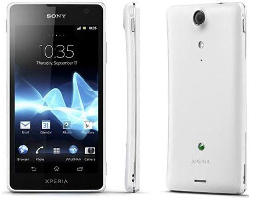 Sony Xperia T, V and J - Xperia T