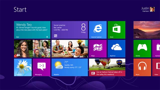 Windows 8 RTM Screenshot