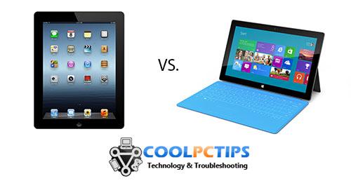 iPad or Microsoft Surface