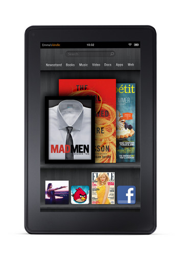 Amazon Kindle Fire 2, Kindle Fire HD First Look - Kindle Fire 2