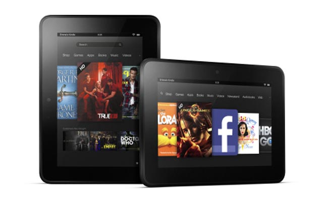 Amazon Kindle Fire 2, Kindle Fire HD First Look - Kindle Fire HD