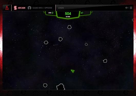 Atari Arcade Games - Asteroids