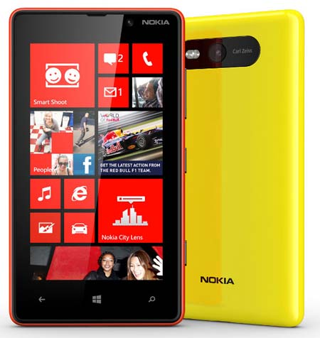 Nokia Lumia 920 and 820 Preview - Lumia 820