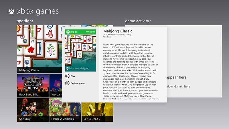 Windows 8 Games