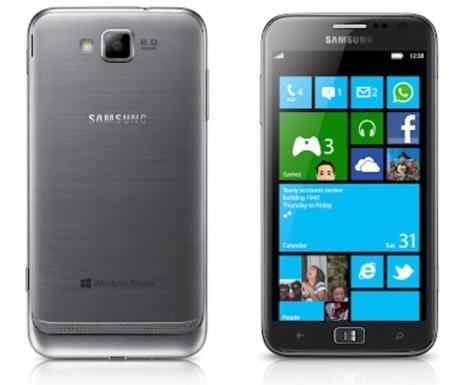 Windows Phone 8 Devices - Samsung Ativ S