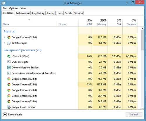 Windows 8 Review - Performance