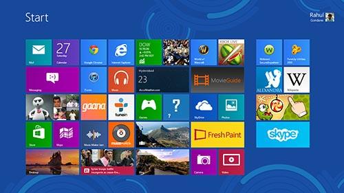 Windows 8 Review - UI