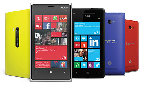 Windows Phone 8 Features - Phone Lineup