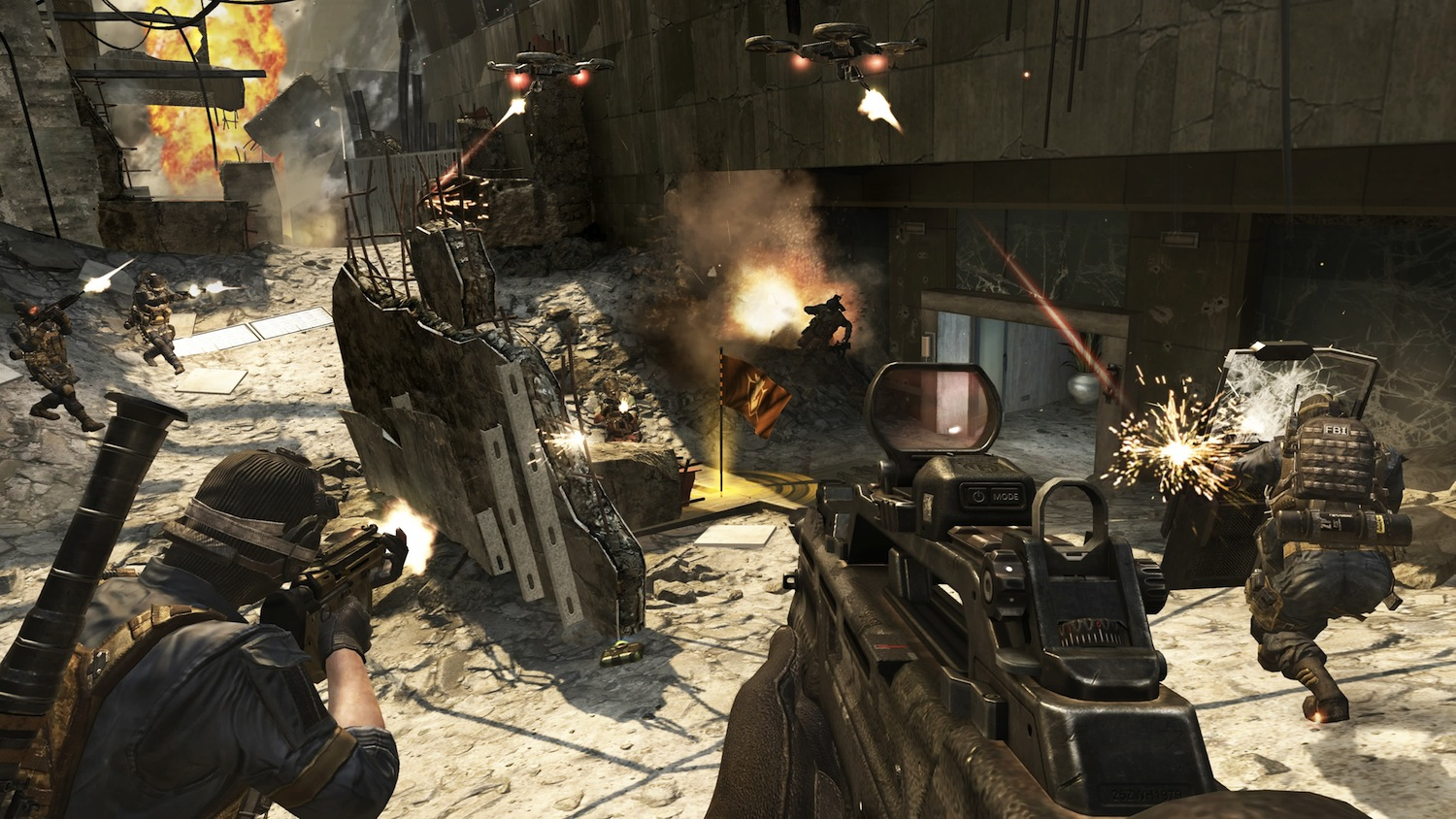 Call of Duty Black Ops 2 Review - Screen 2