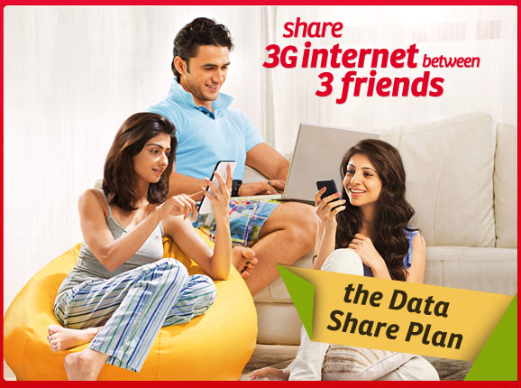 Airtel 3G Data Share Plan