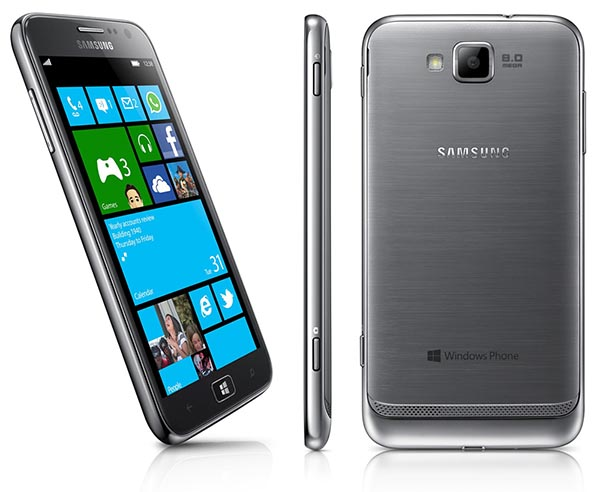 Nokia Lumia 920 vs HTC 8X vs Samsung Ativ S - Samsung Ativ S
