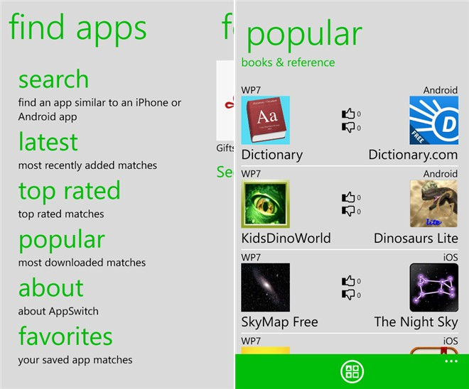 Must Have Windows Phone 8 apps - AppSwitch