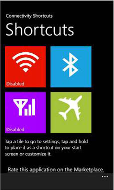 Must Have Windows Phone 8 apps - Connectivity Shortcuts