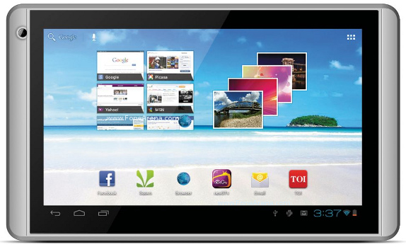 Videocon VT71 tablet complete specs