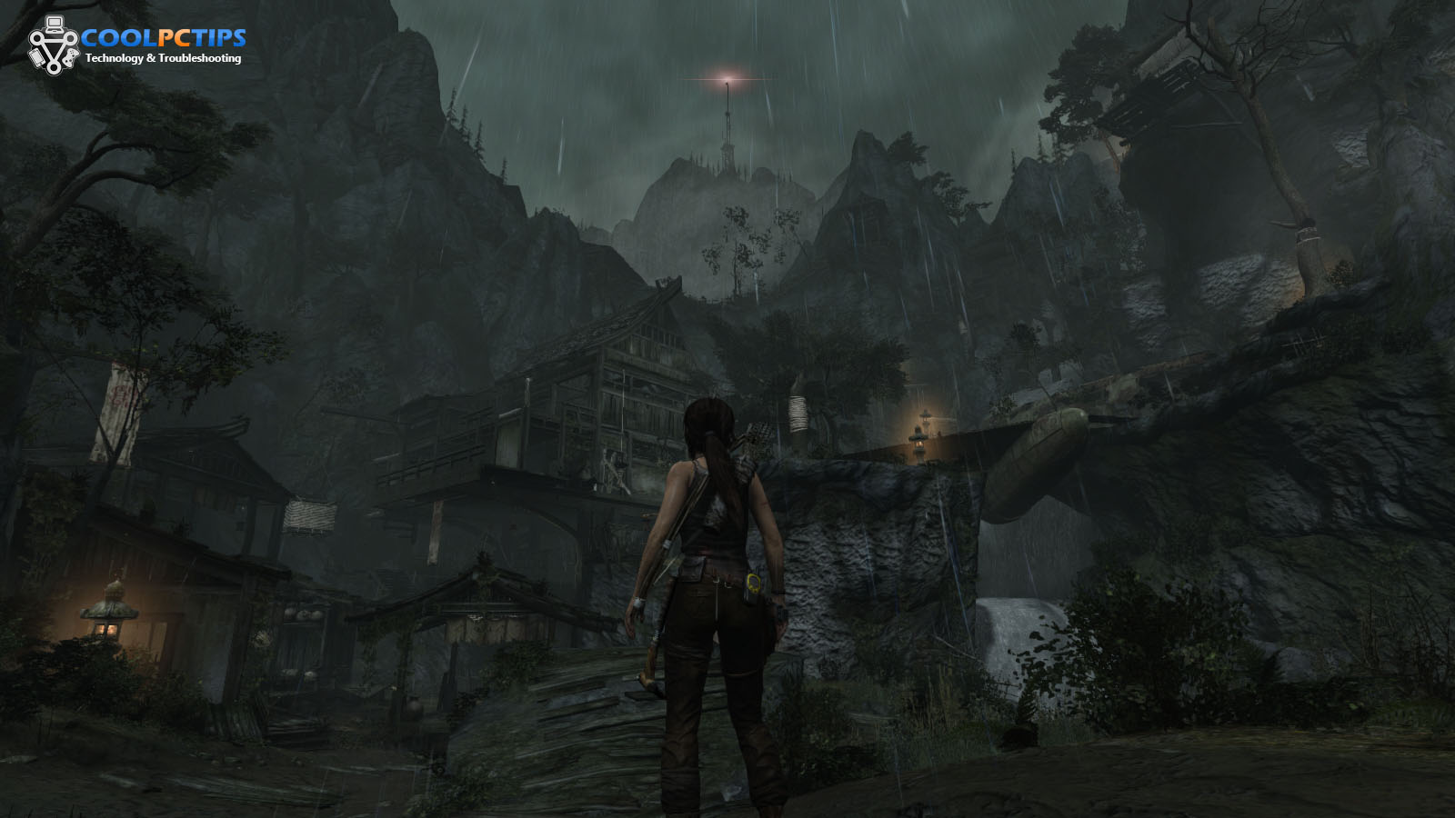 Tomb Raider PC Review Screen 1