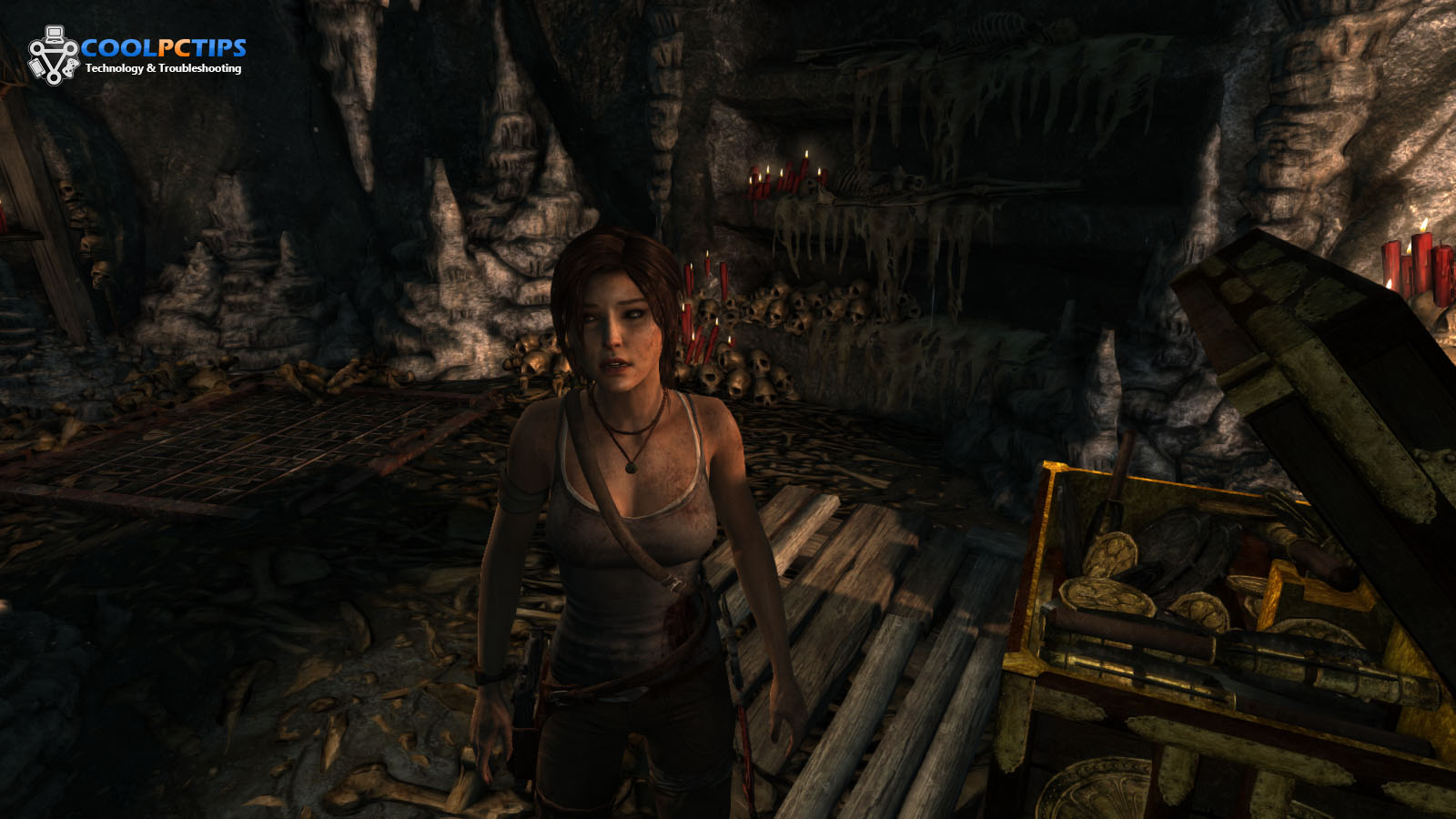 Tomb Raider PC Review Screen 3