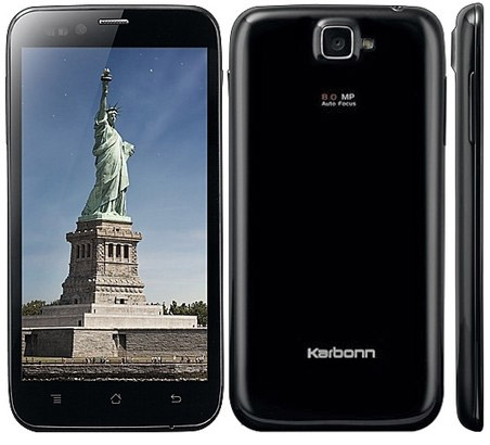 Best cameraphones for all budgets 2013 - Karbonn S5 Titanium