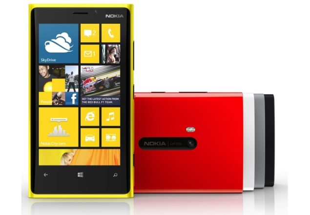 Best cameraphones for all budgets 2013 - Nokia Lumia 920
