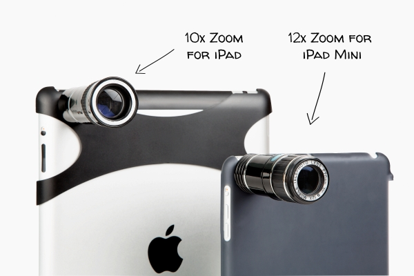 How to Get up to 12x of Optical Zoom to Your iPad