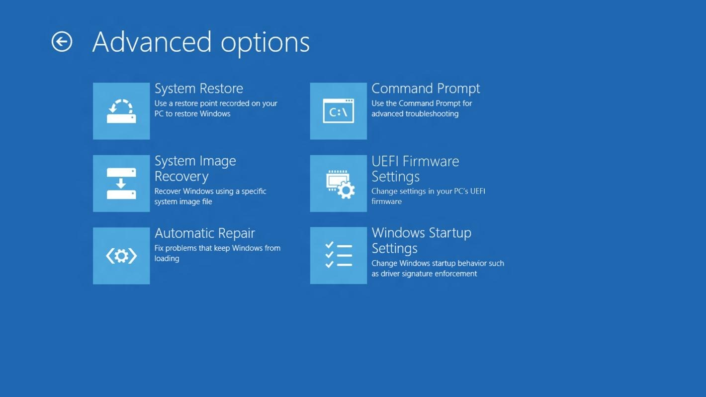 How to start Windows 8 Safe Mode - Advanced Options