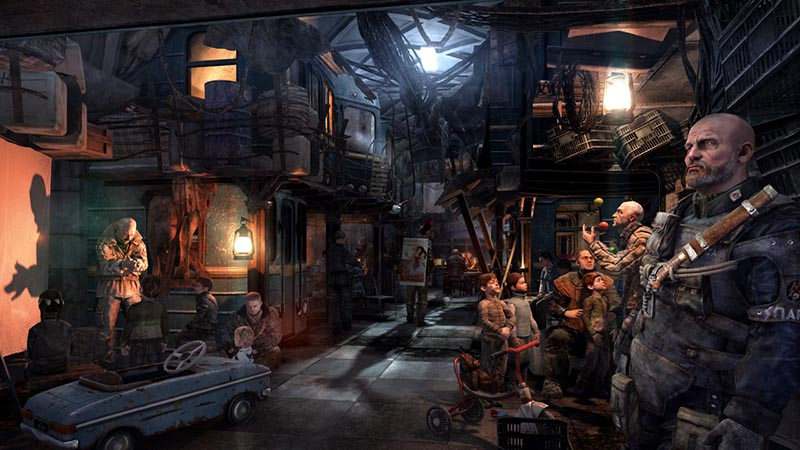 Top Upcoming PC Games of 2013 - Metro Last Light