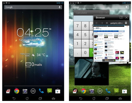asus fonepad software screen
