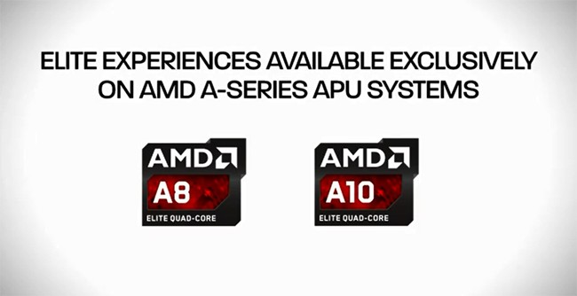 AMD Richland Desktop APUs Launched - Logos