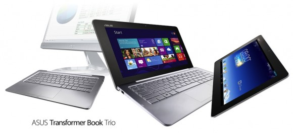 Asus Transformer Book Trio Revealed - Modes