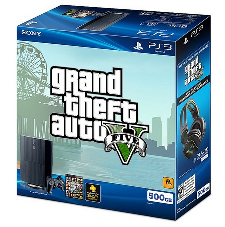 Sony E3 2013 Briefing Roundup - PS3 GTA V Bundle