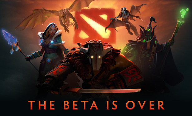 Dota 2 Launched - Beta is Over