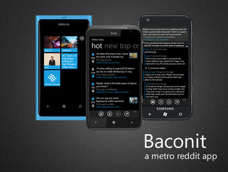 Must have Windows Phone 8 apps - Baconit