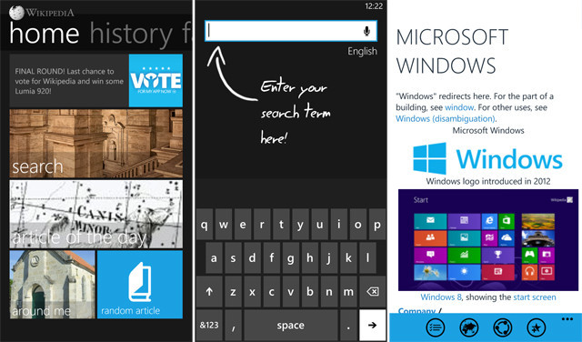 Must have Windows Phone 8 apps - Wikipedia