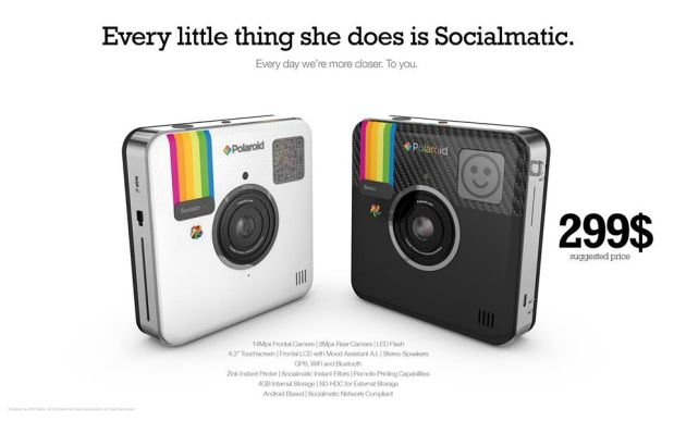 Socialmatic Camera Announced