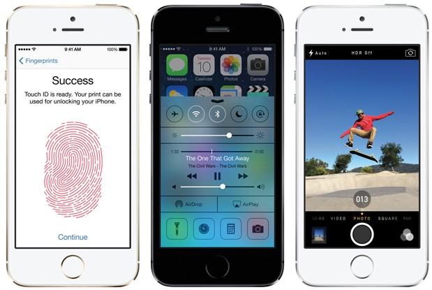 Apple Launches iPhone 5S and iPhone 5C - iPhone 5S