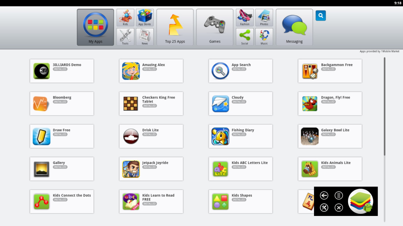 Top 3 Android Emulators for Windows - BlueStacks