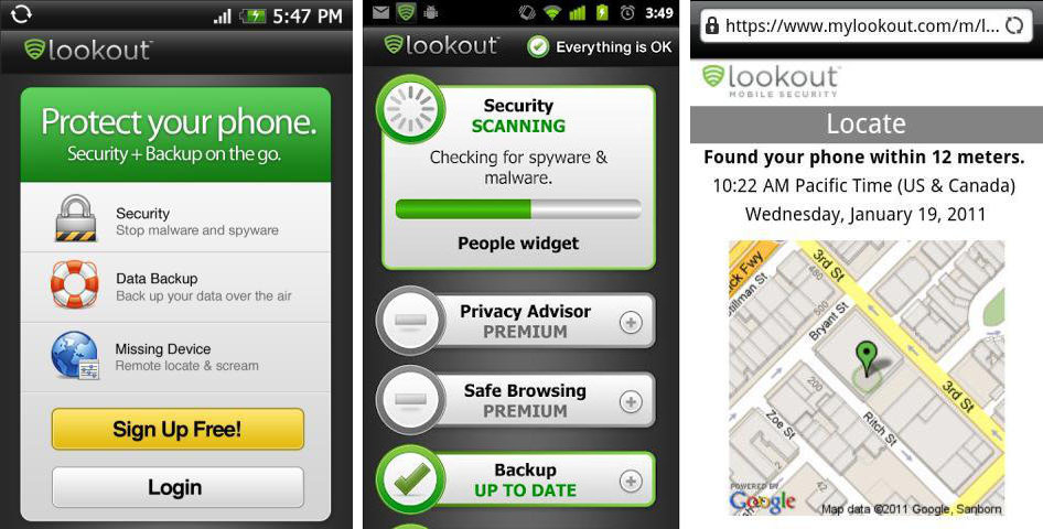 Top 4 Free Android Device Tracker Apps - Lookout