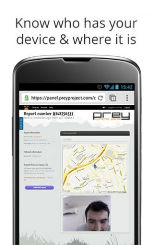 Top 4 Free Android Device Tracker Apps - Prey Anti Theft