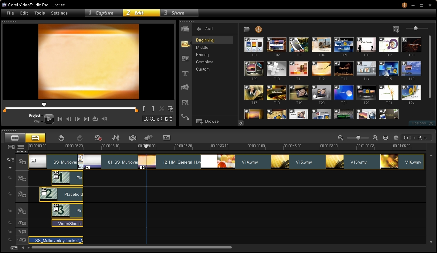 Top 5 Video Editing Software - Corel VideoStudio Pro