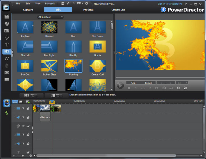 Top 5 Video Editing Software - CyberLink PowerDirector